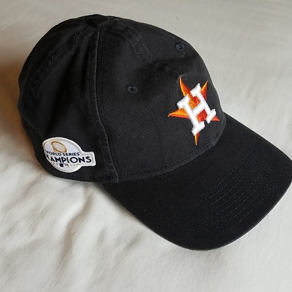 Houston Astros World Series Champions Baseball Cap.  M 5bf482291b3294d97e19f2b8 f9bd18eb21c0